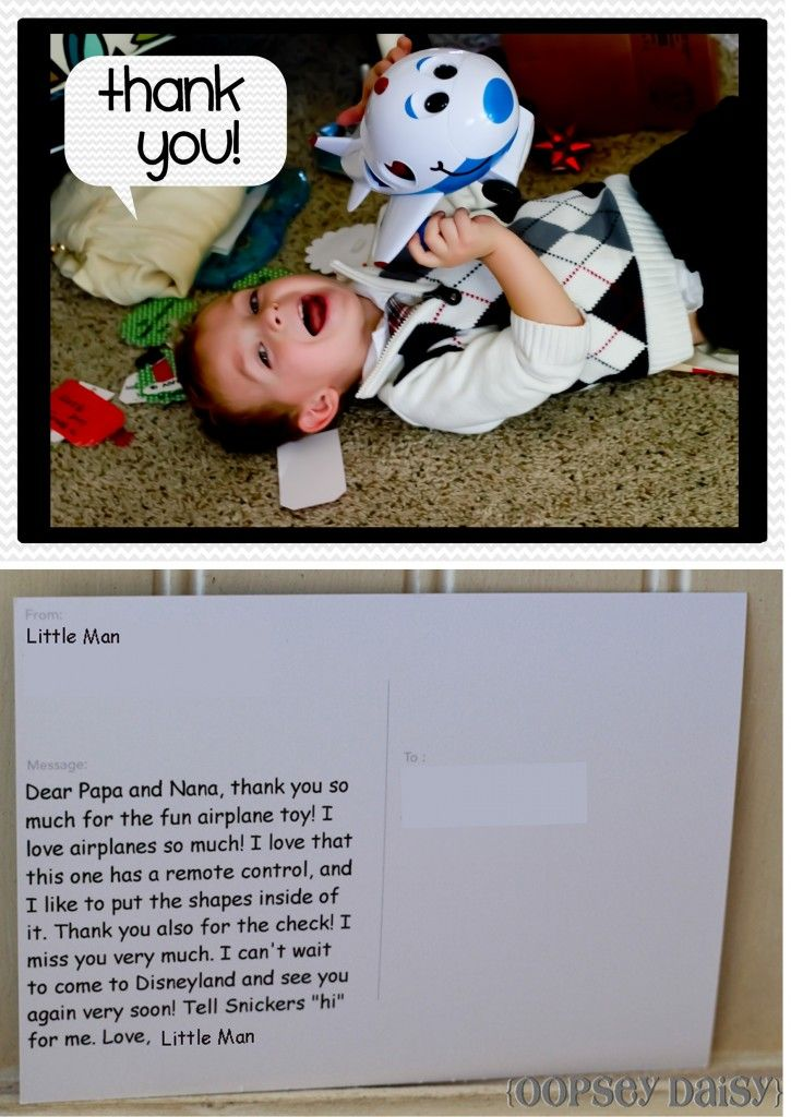 Best Thank you Idea Ever! Take a picture of your kid with the item - best of invitation letter keynote speaker