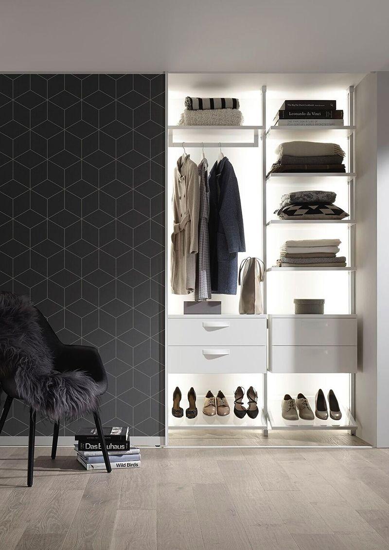 Kleiderschränke begehbare Kleiderschränke Design Interieur Möbel ...