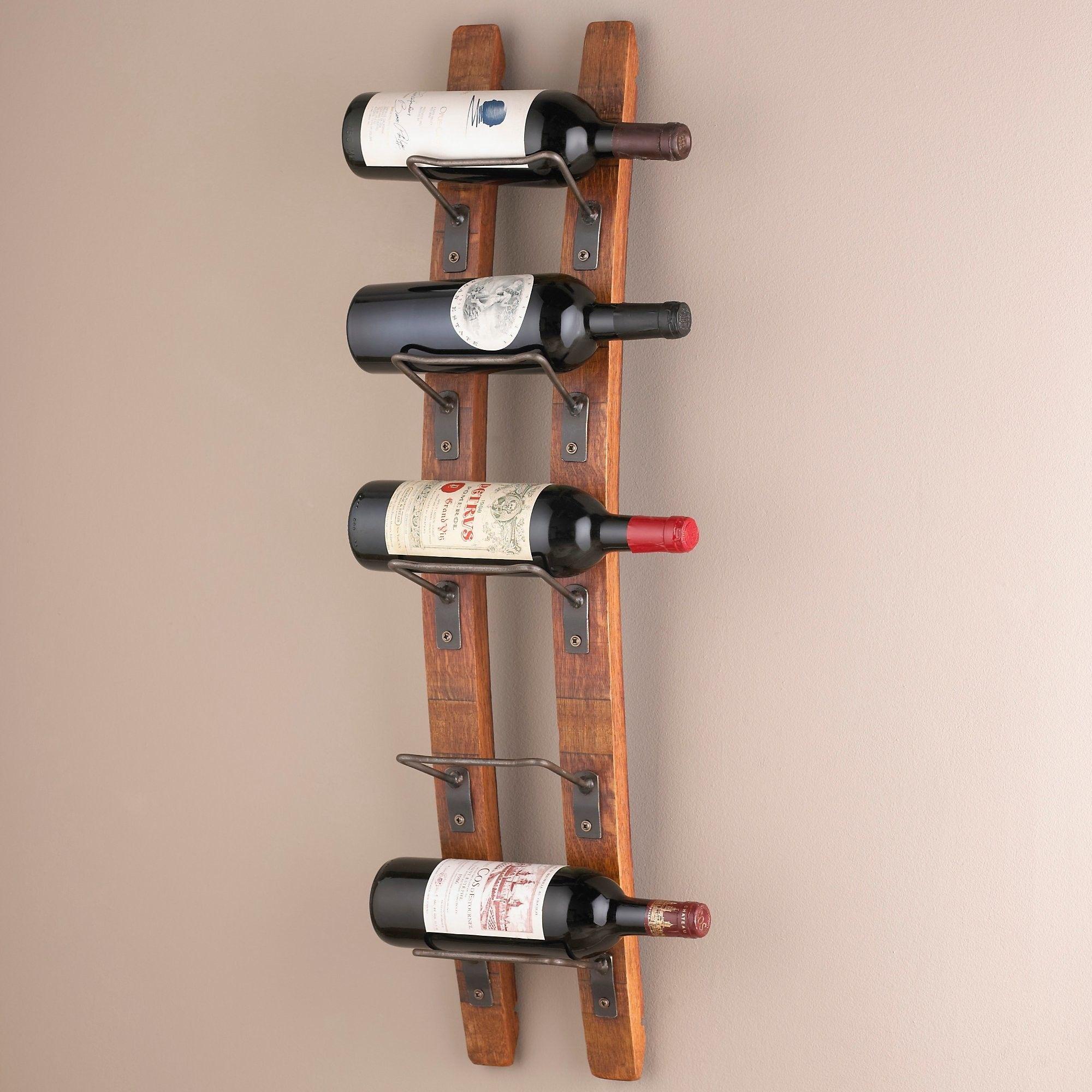 ideas creative in oa wine elegant image ikea wallhanging wall full mount mounted wood metal kitchen vintage racks rack