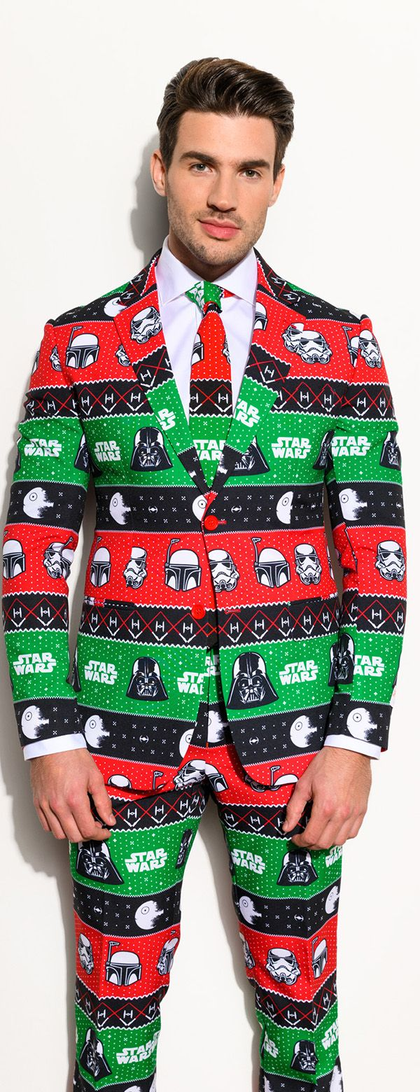 c9bfce70f964f9 Christmas clothing for men Star Wars with the suit from OppoSuits ...
