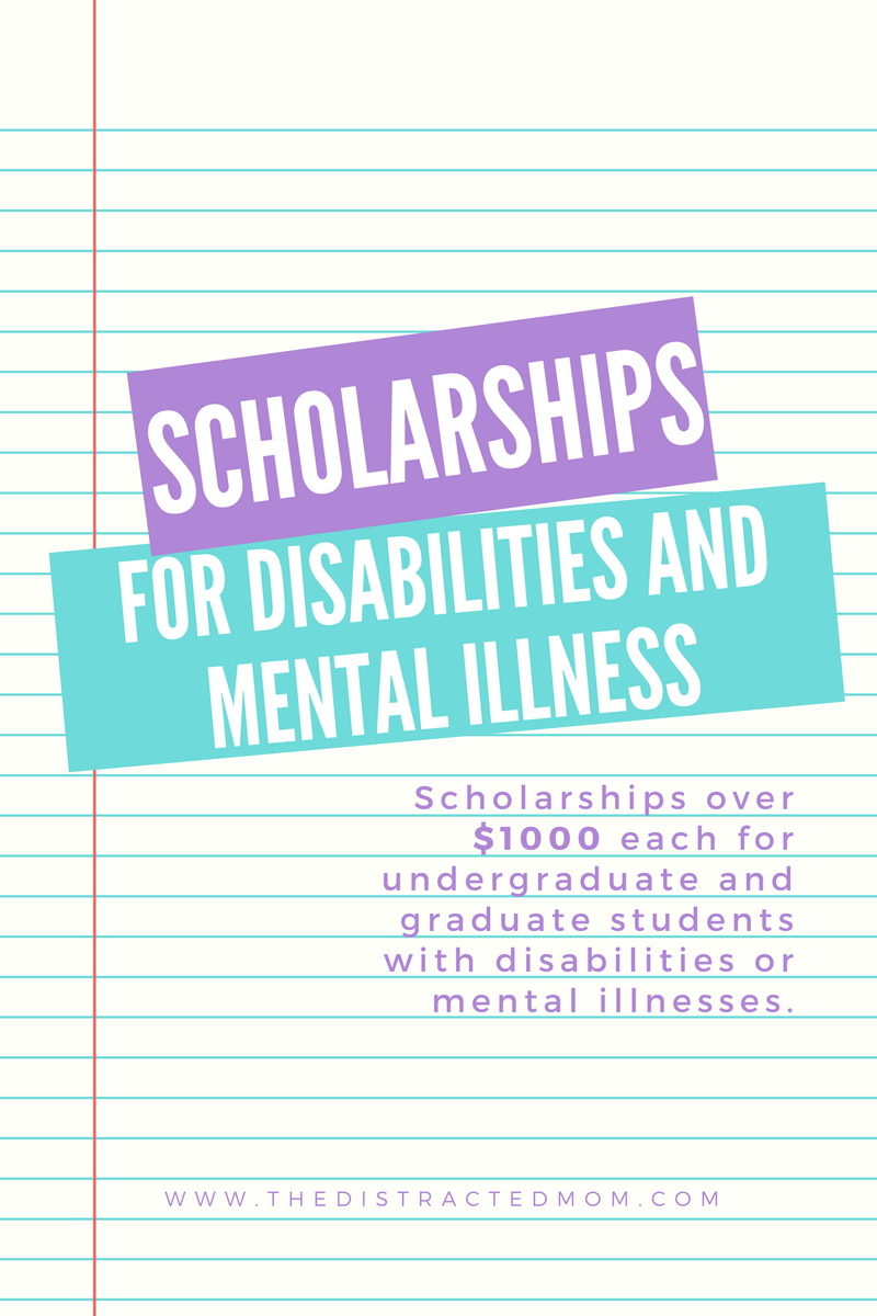 Scholarships For Students With Disabilities Or Menal Illnesses