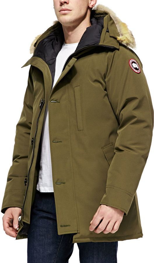 Trim Parka with Arctic Canada Goose Chateau Fur Tech WHED2I9
