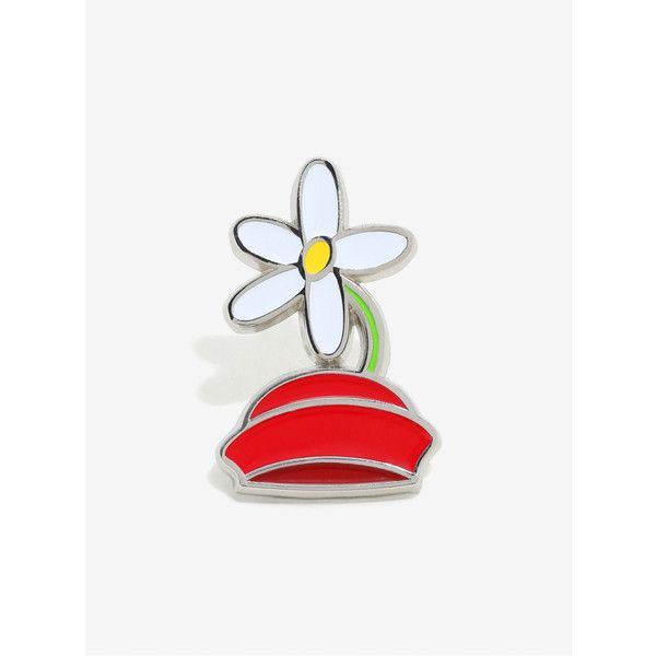 Disney Minnie Mouse Hat Enamel Pin (105 MXN) ❤ liked on Polyvore featuring jewelry, brooches, pin brooch, pin jewelry, enamel jewelry and enamel brooches