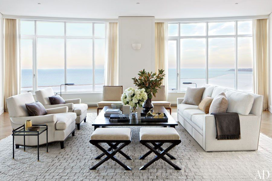 Living Room Victoria Hagan Designs A Luminous Milwaukee Residence Architectural Digest