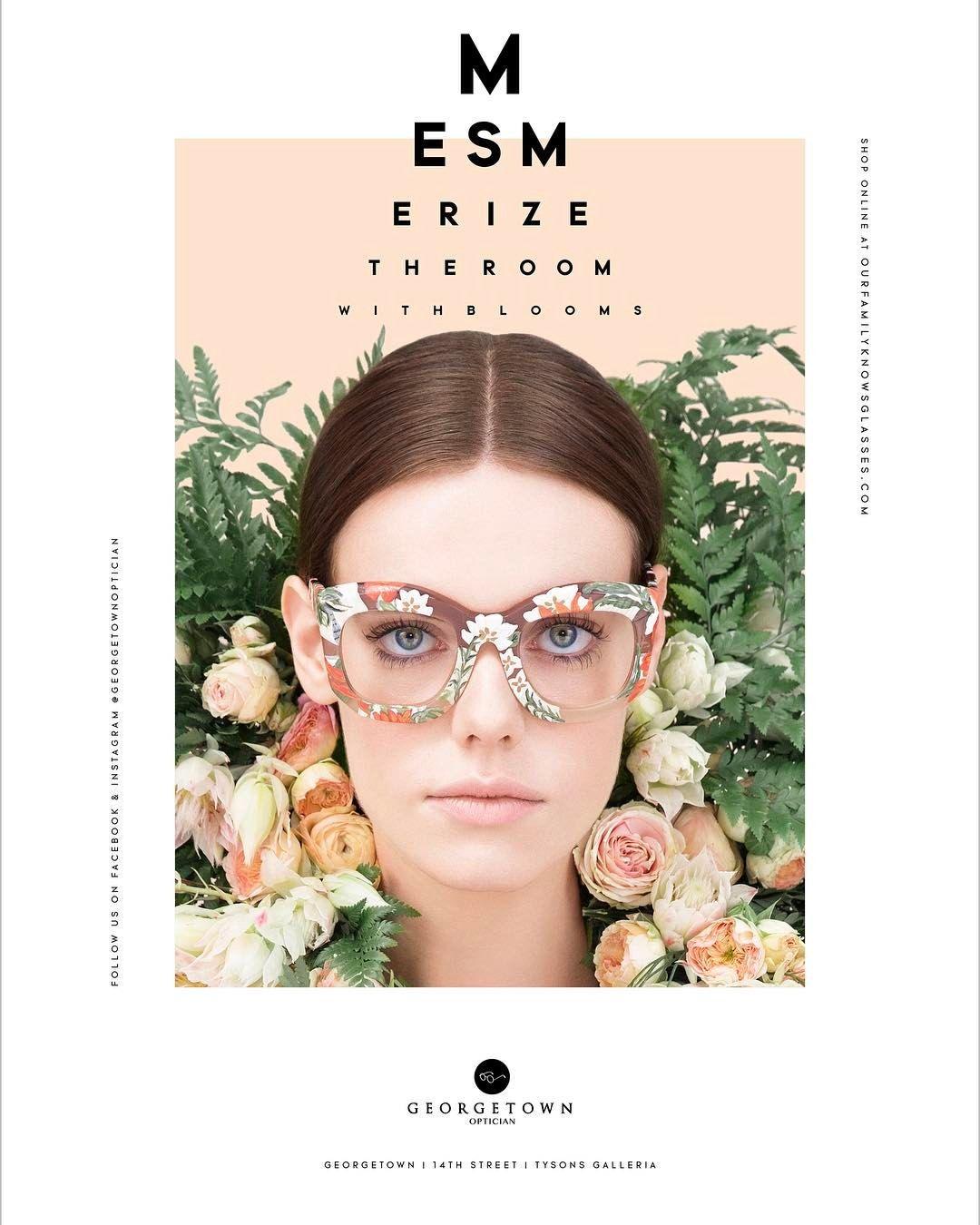 aa1e922b6a Spring has definitely sprung! New Georgetown Optician ad!   georgetownoptician Creative Directio