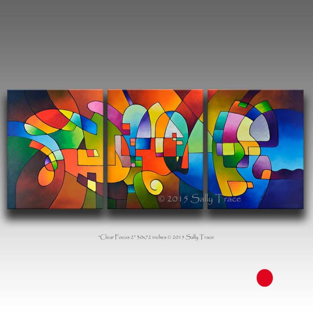 Multiple Canvas Wall Art fine art multiple canvas paintings in geometric, fluid, florals