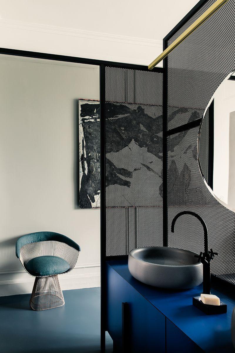 Salle De Bain Sol Effet Parquet ~ Un Appartamento Firmato Uda A Parigi Living Corriere Salle De