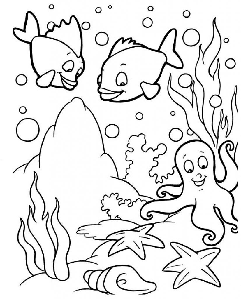 Ideas About Ocean Coloring Pages On Pinterest Colouring