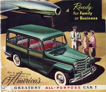 Captivating Ready For Family Or Business Willys Wagon Brochure... Another Brochure From  The Mystery Awesome Ideas
