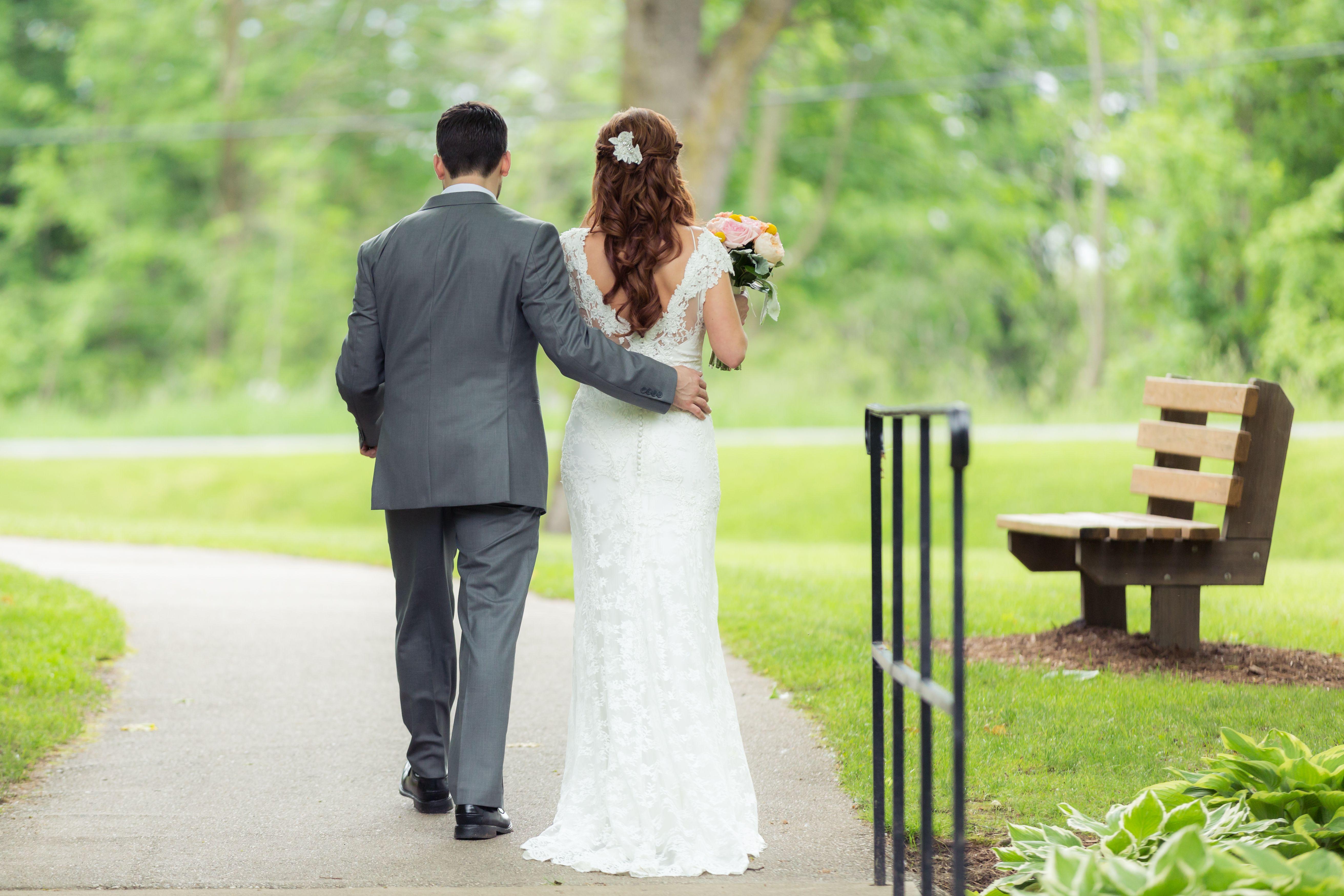 Wedding dress suit  lace wedding dress gray suit  BZ Wedding  Pinterest  Lace wedding