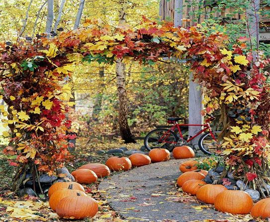 fresh and inspiring fall outdoor decor - Outside Fall Decorations