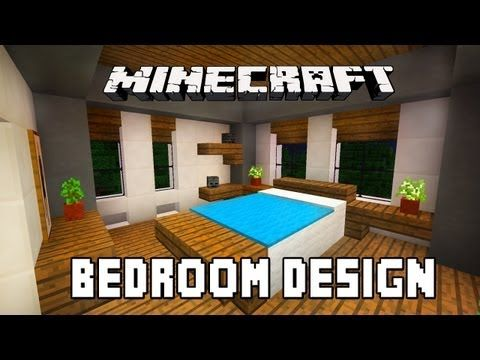 Modern Furniture Minecraft minecraft tutorial: how to build a modern house ep.6 (bedroom