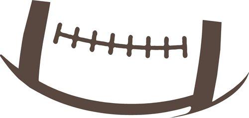 football outline - Football Outline