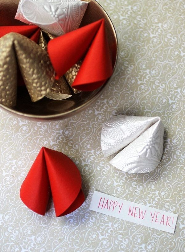 Chinese New Year Craft Ideas For Kids Part - 30: Diy Paper Fortune Cookies Happy Spring Chinese New Year Crafts Ideas Kid  Craft Ideas