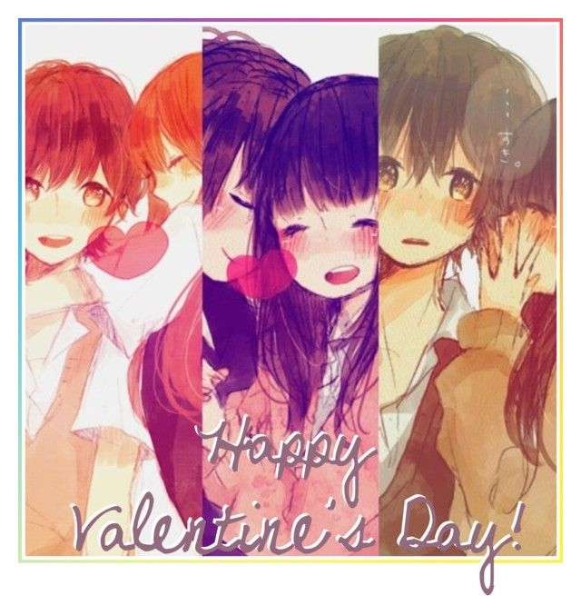 Happy Valentine S Day By Carebear Chan Liked On Polyvore