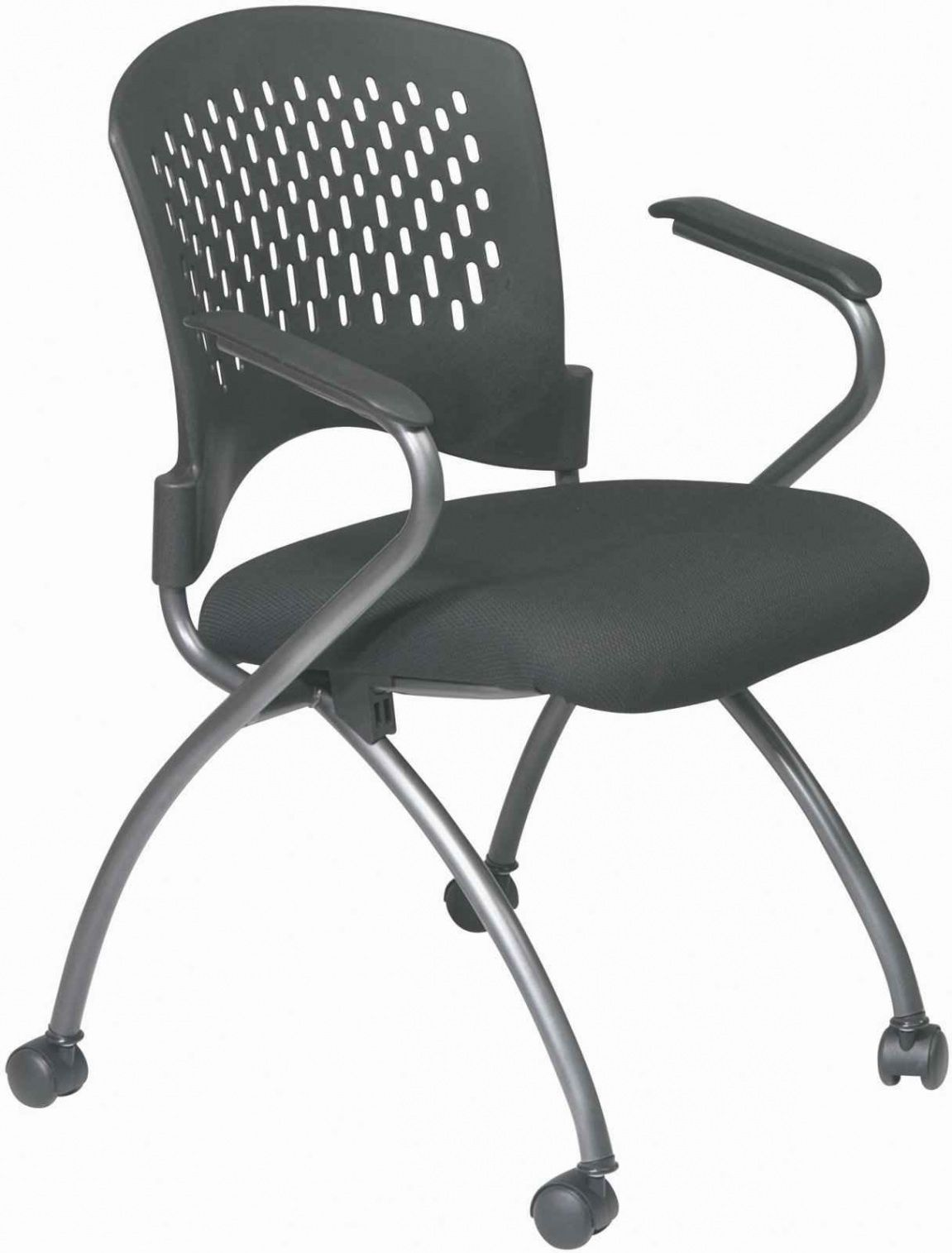 Folding Office Chair with Wheels - Luxury Home Office Furniture ...