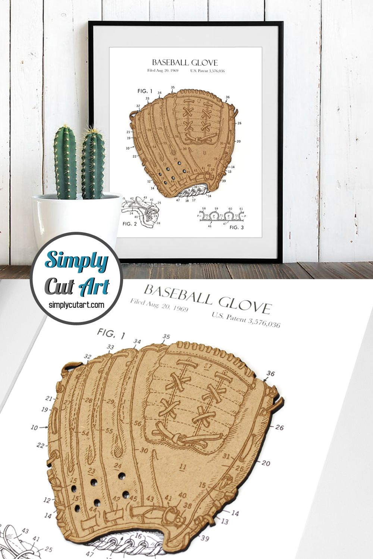 Baseball Gift, Baseball Home Decor, Patent Art, 8x10 or A4