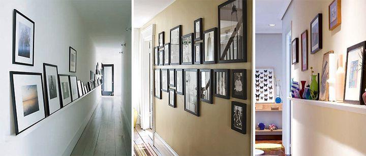 Decorar con cuadros un pasillo largo interiores decoracion pasillos decoracion con - Decorar pasillos largos ...
