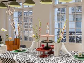 Kleurrijke Interieurs Pastel : Deze kleurrijke items vind je in onze winkel! #tafelkleed #etagère
