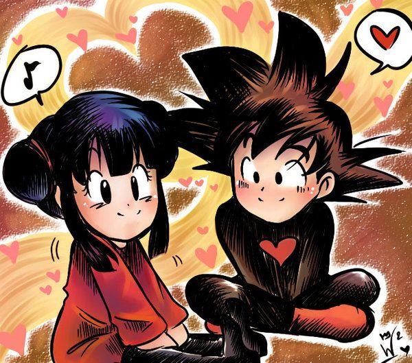 Pin On Goku Chichi