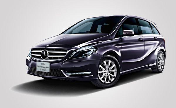 Mercedes Benz B180 Northern Lights Black Limited Is Only For Japan Car Mercedes Benz Mercedes