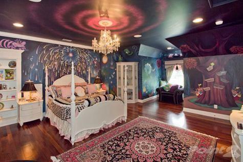 Wonderland Room Decor Alice In Wonderland Bedroom Disney Bedrooms Alice In Wonderland Room