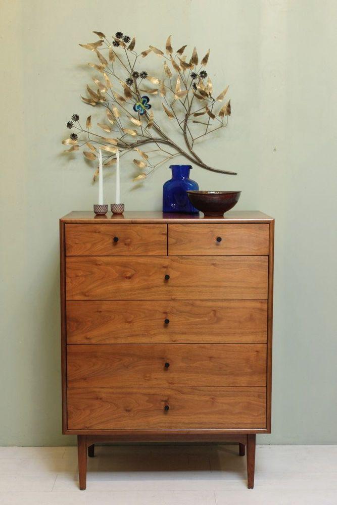 Vintage 1950\'s Drexel Declaration High Boy Dresser: Mid Century ...