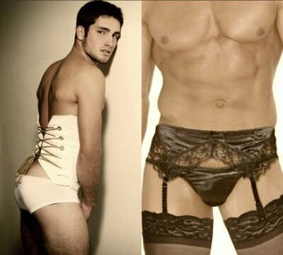 Men wearing sexy lingerie