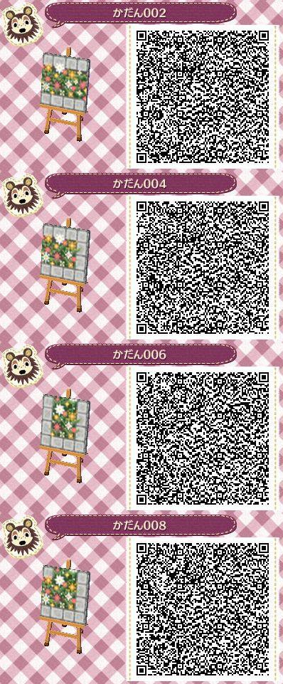 Flower Border W Stone 2 Animal Crossing Qr Animal Crossing Qr