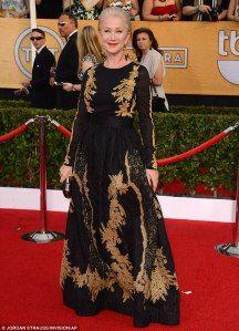 2014 Screen Actor's Guild Awards -> The Best & Worst Dressed Lists: Helen Mirren