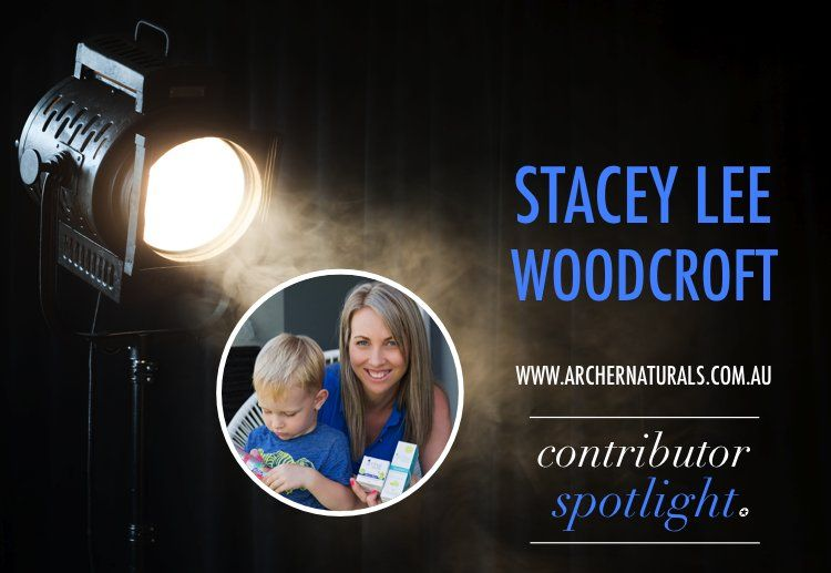 Thanks MoM!! Contributor spotlight… Stacey Lee Woodcroft.
