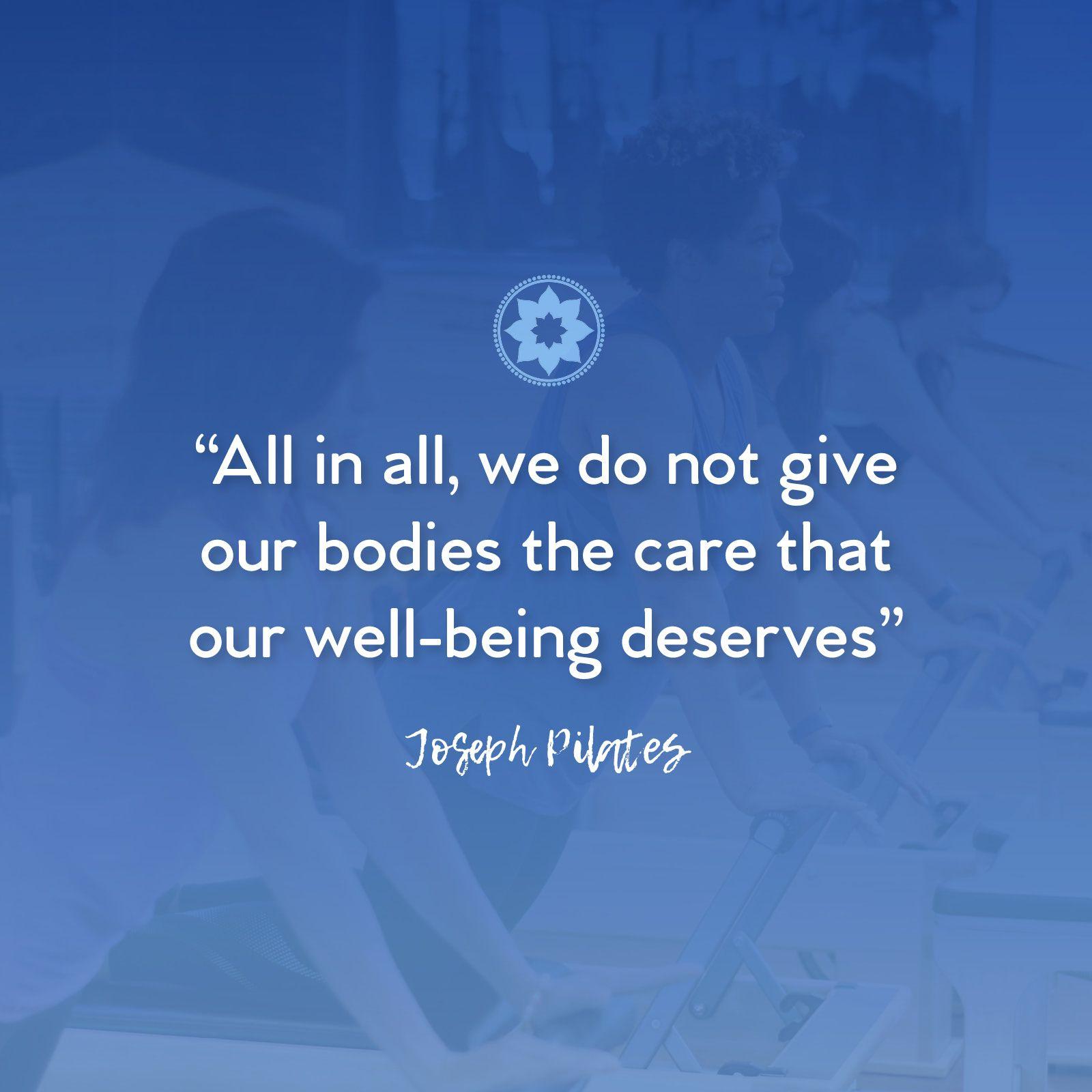 Joseph Pilates Quotes Movement Heals