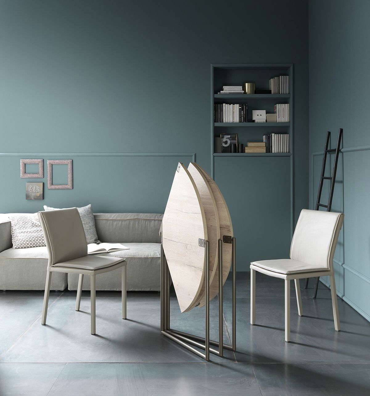 Transforming Dining Table Space Saving Furniture Folding Dining