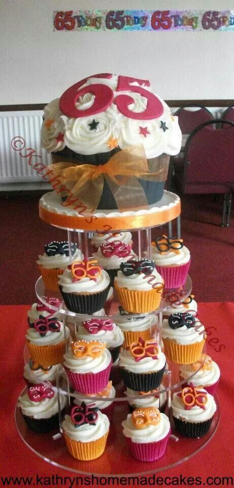 60th Birthday cupcakes 60th birthday party ideas ...