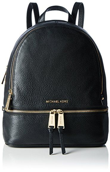 MICHAEL Michael Kors Rhea Zip Medium Leather Backpack bfc5d3e8ce