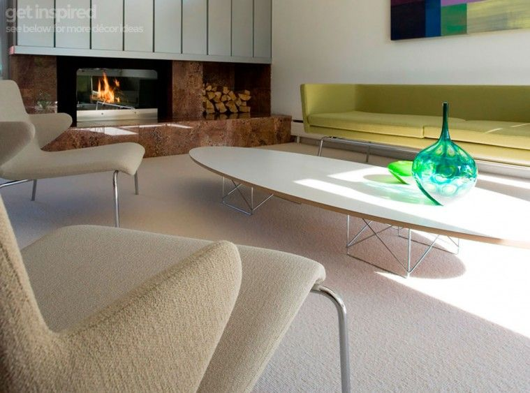 Eames Surfboard Coffee Table.Eames Etr Elliptical Surfboard Coffee Table Platinum Replica
