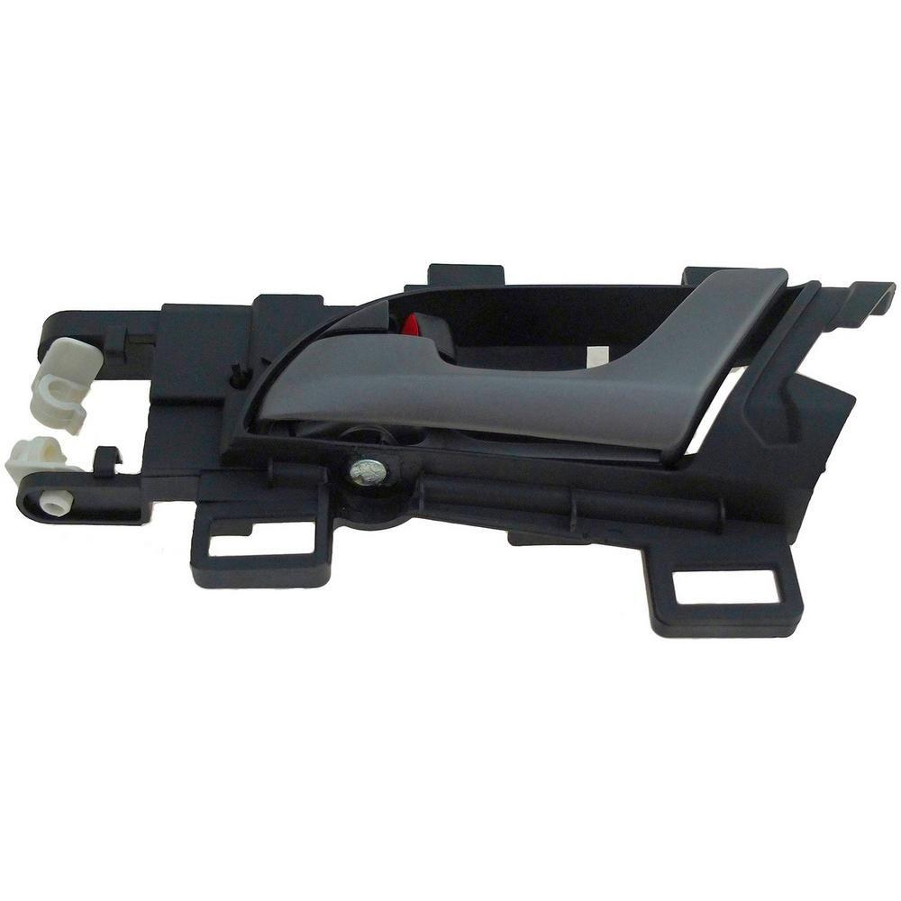 HELP Interior Door Handle Rear Left Gray Lever/Black