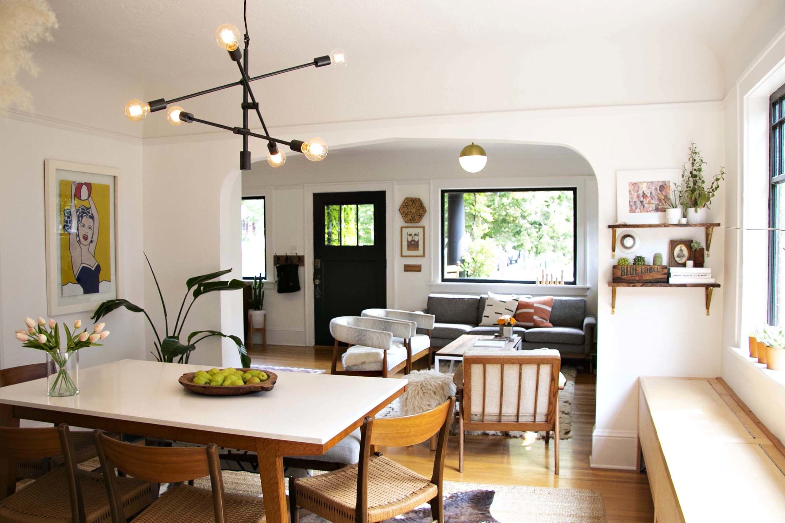 A Small Swedish Bungalow In Portland Is Diyed And Adorable Home Home Decor Natural Home Decor Bungalow dining room decorating