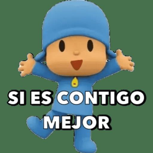 Pocoyo Canciones Luisdanielurbina Imagenes Divertidas Para Whatsapp Pocoyo Memes Divertidos