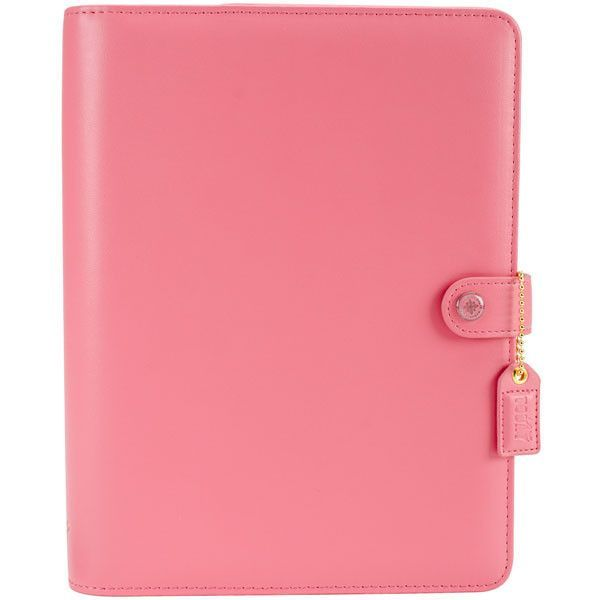 Color Crush A5 Faux Leather Personal Planner Kit Light
