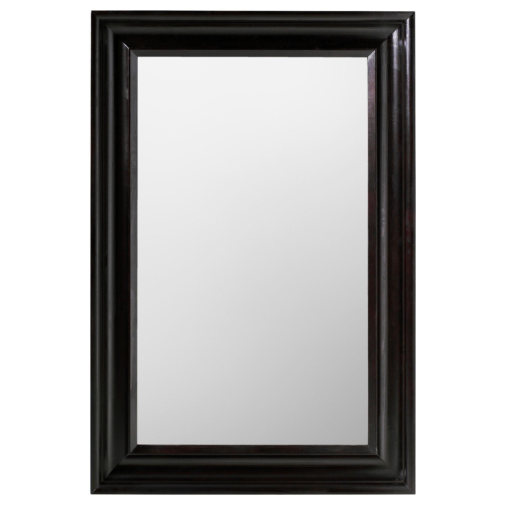 hemnes miroir brun noir hemnes brun et miroirs. Black Bedroom Furniture Sets. Home Design Ideas