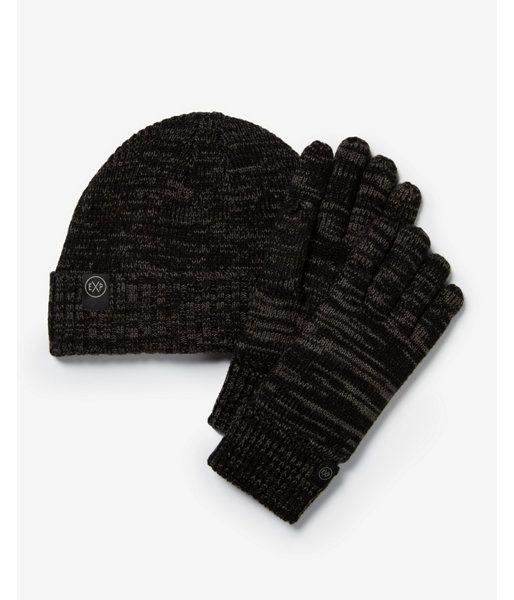 8897c2bb6c54d Charcoal Beanie And Glove Gift Set Gray Men s REG