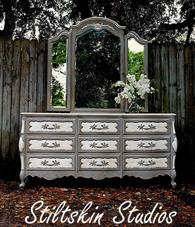 Versailles Collection French Gilded Dresser by StiltskinStudios, $950.00