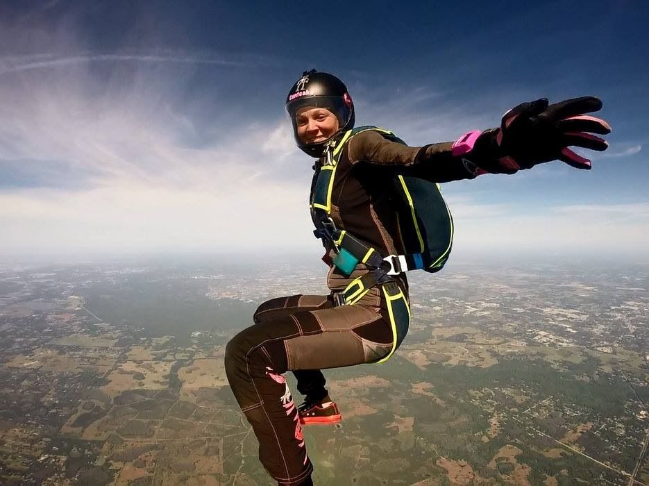Sitfly Skydive Freefly Skydiving Extreme Sports Paragliding