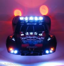 Rc Led Light Set With Light Bar For Traxxas Slash 4x4 2wd Vxl Or