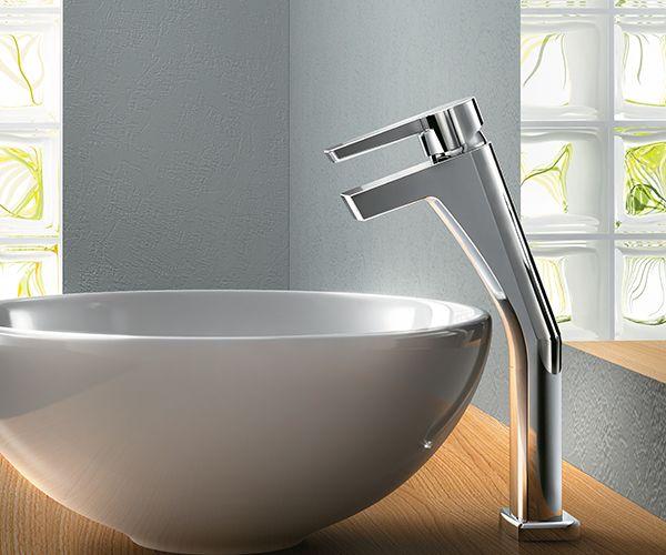 Misturador Monocomando para banheiro e lavatório de Mesa Bica Alta Priori | Priori | Docol Metais Sanitários