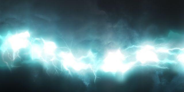 Glow Lightning Blue Abstract Wallpaper Blue Wallpapers Desktop Wallpaper