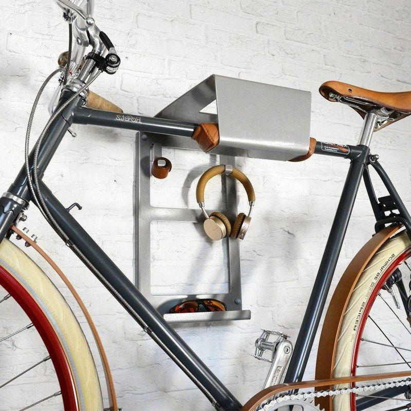 interessante ideen f r fahrradhalter wand cool stuff. Black Bedroom Furniture Sets. Home Design Ideas