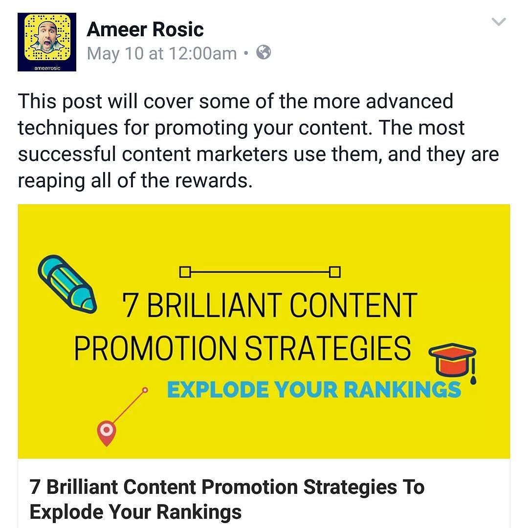 Brand New Post 7 Brilliant Ways To Promote Your Content Head Over To Ameerrosic Com Entrepreneursofin With Images Promotion Strategy Mindset Coaching Content Promotion