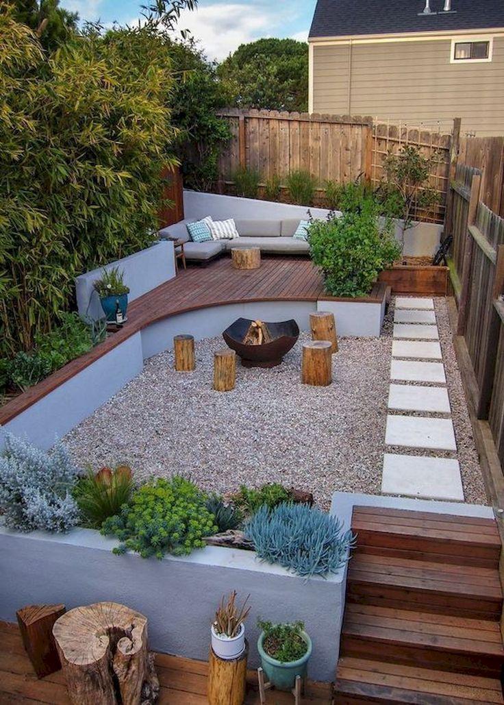 44 frische kleine Gartenideen für den Garten #frische #garten #gartenideen #kl  #kleinegärten